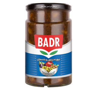 Marinated Olives with Walnut & Eggplant (Zeytoon Parvardeh ba Gerdoo va Bademjan)  650gr - Badr