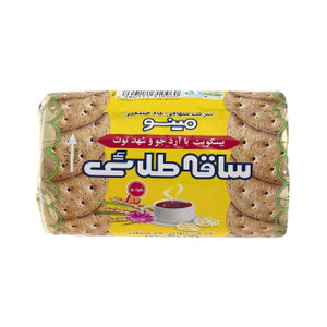 Saghe Talaei Biscuit with Barley Flour and Mulberry Nectar 190gr - Minoo