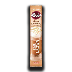 Cafe Crown White Mocha Instant Coffee 20g - Ulker