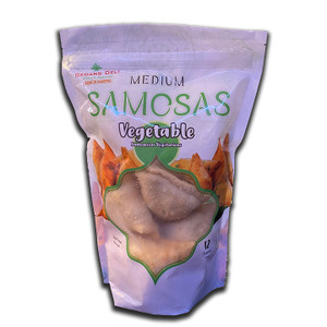 Halal Frozen Vegetable Samosa 12Pcs - Cedar's Deli