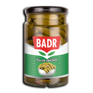Pickled Cucumber ( Midget ) 1500gr - Badr