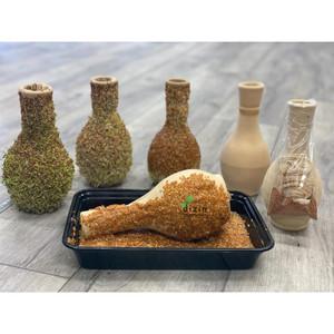 کیت کامل  سبزه کوزه ای با تخم شاهی - Cress Seed Sprouting on Vase Kit for Haft Seen