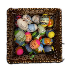 Haft Sin Decorative Eggs Variety 3Pcs