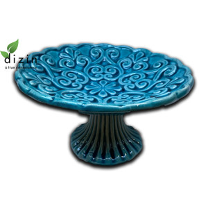 Hand Crafted Ceramic Turquoise Bowl Style 1