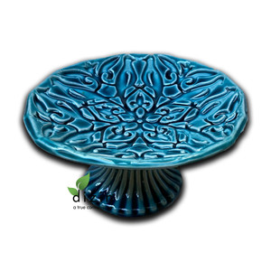 Hand Crafted Ceramic Turquoise Bowl Style 3
