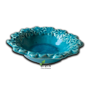 Hand Crafted Ceramic Turquoise Bowl