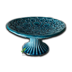 Hand Crafted Ceramic Turquoise Bowl Style 4