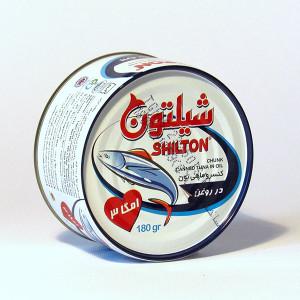 Easy open Chunk Light Tuna Fish in Oil (180 gr) - Shilton