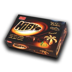 Hibye Center Filled Cookie Date & Chocolate 360gr - Shirin Asal