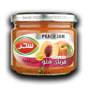 Peach Jam 390g - Sahar