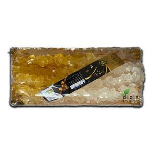 Mix Saffron and White Rock Candy  1kg  - Hasht
