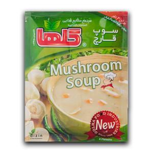 Semi Prepared Mushroom Soup 70gr - Golha