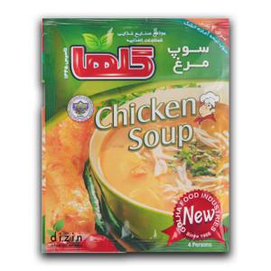 Semi Prepared Chicken Soup 70gr - Golha