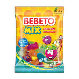 Gummy Mix Halal 80gr - Bebeto