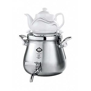 Teapot and Kettle Set Brass Made (Atrin) 4 lit - Alinassab