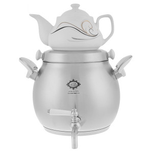 Teapot and Kettle Set Brass Made (Aylin) 5 lit - Alinassab