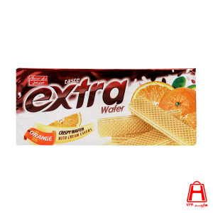 Extra wafer orange with cream layers 70gr - Shirin Asal