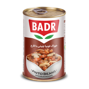 Pinto Beans with Mushrooms 430gr - Badr