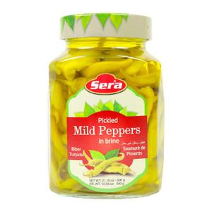 Pickled Mild Peppers in Brine 600gr - Sera