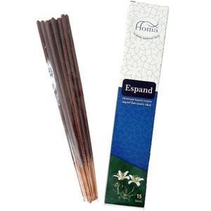 Handmade Espand (  Wild Rue Seeds ) Inscense 15 Sticks