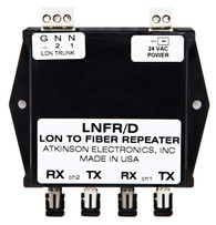LNFR/D  Lonworks Dual Network Fiber Optic Repeater
