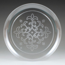 "9"" Sovereign Etched Plate"