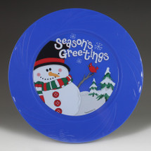 "9.5"" TruColor Season's Greetings Plate"
