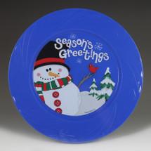 "9.5"" TruColor Season's Greetings Plate"