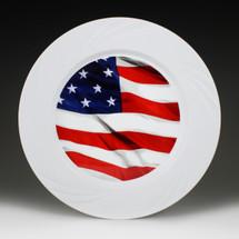 "9.5"" TruColor Patriotic Plate"