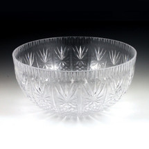 12 qt. Crystal Cut Punch Bowl