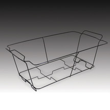 Full Size Wire Chafing Rack, Black