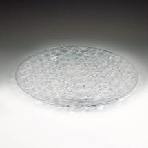 "Crystal Cut 13"" Round Tray"