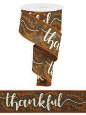 "2.5""X10YD THANKFUL"
