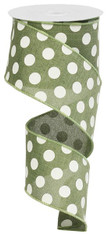 "2.5""X10YD MEDIUM POLKA DOTS"