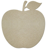 "12.5""H X 11.5""L MDF APPLE - NATURAL"