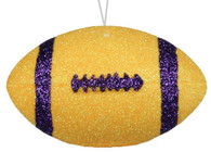 Gold with Purple Football