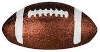 "11"" Chocolate Glitter Football"