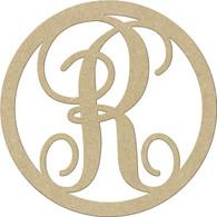 "23"" Circle Letter R"