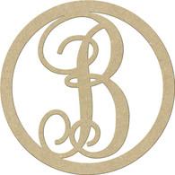"""23"""" Circle Letter B"""