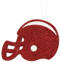Crimson/White Football Helmet