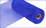 "10""X10YD Metallic Mesh - Royal Blue W/Blue Foil"