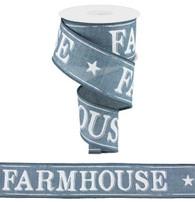 """2.5""""X10YD Farmhouse On Royal-Denim"""