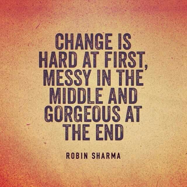 Change Can Be Hard