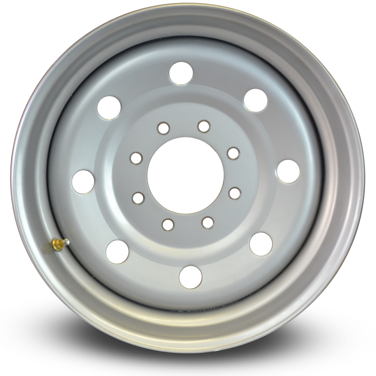 "Standard trailer 8 on 6.5"" bolt pattern."