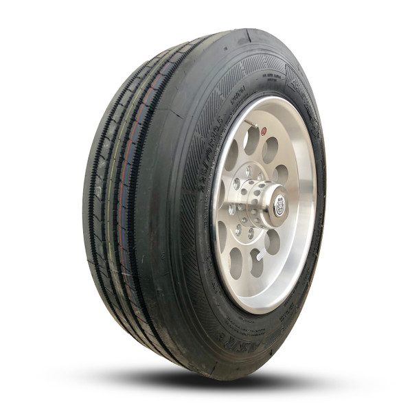 Tire ONLY. Wheel for illustrative purposes only.