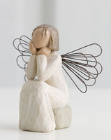 Willow Tree (R) Angel - Angel of Caring  Sentiment: 'Always there, listening with a willing ear and an open heart'