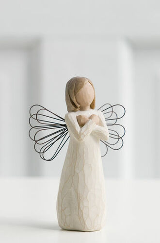 Willow Tree (R) Angel - Sign for Love - 'I love you'