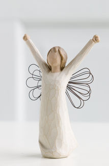 Willow Tree (R) Angel - Courage -  'Bringing a triumphant spirit, inspiration and courage'