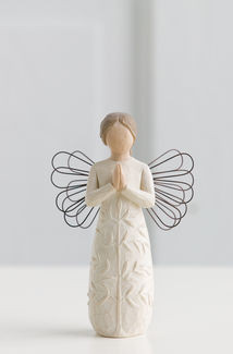 Willow Tree (R) Angel - a tree, a prayer   Sentiment: 'May you find strength, beauty and peace each day'