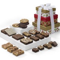 Gifts To Go Fairytale Brownies Christmas Tower